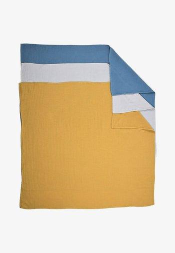 3 PACK - Muslin blanket - blue