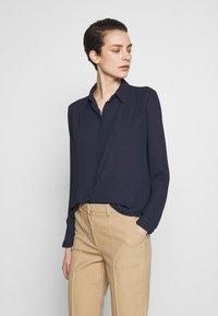 Filippa K - MARIELLE - Button-down blouse - navy - 0