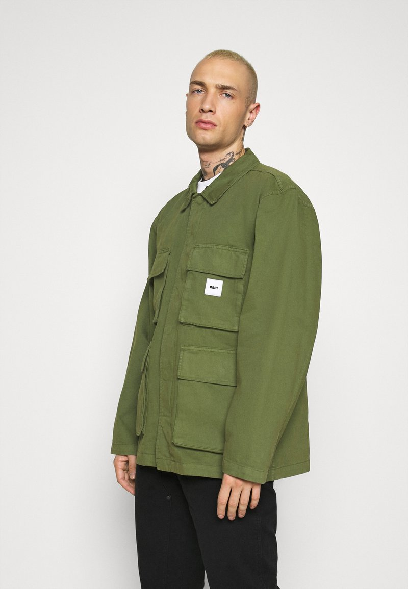 Obey Clothing - PEACE JACKET - Giacca leggera - army