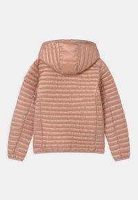Save the duck - IRIS HOODED UNISEX - Lehká bunda - powder pink - 1