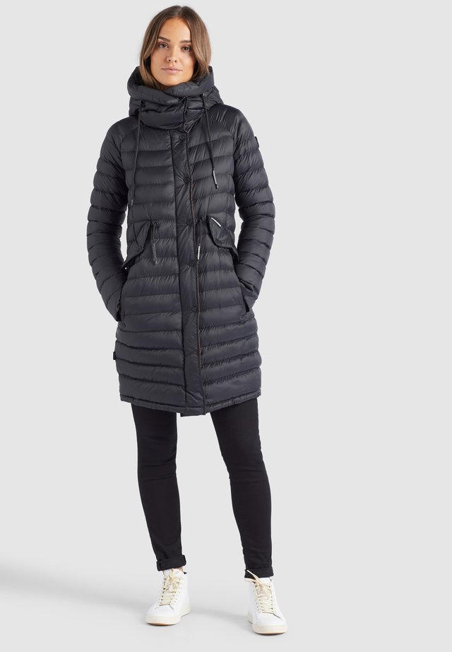NIANA - Winter coat - schwarz