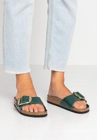 Birkenstock - MADRID BIG BUCKLE - Slippers - dark green - 0