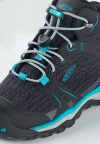 Keen - TERRADORA II MID WP - Hiking shoes - magnet/bluebird - 5