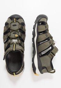 Keen - NEWPORT NEO H2 - Walking sandals - dusty olive/sulphur - 0
