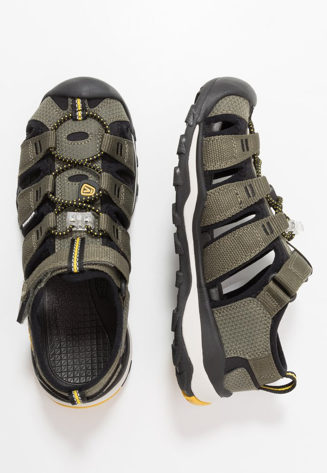 NEWPORT NEO H2 - Walking sandals - dusty olive/sulphur