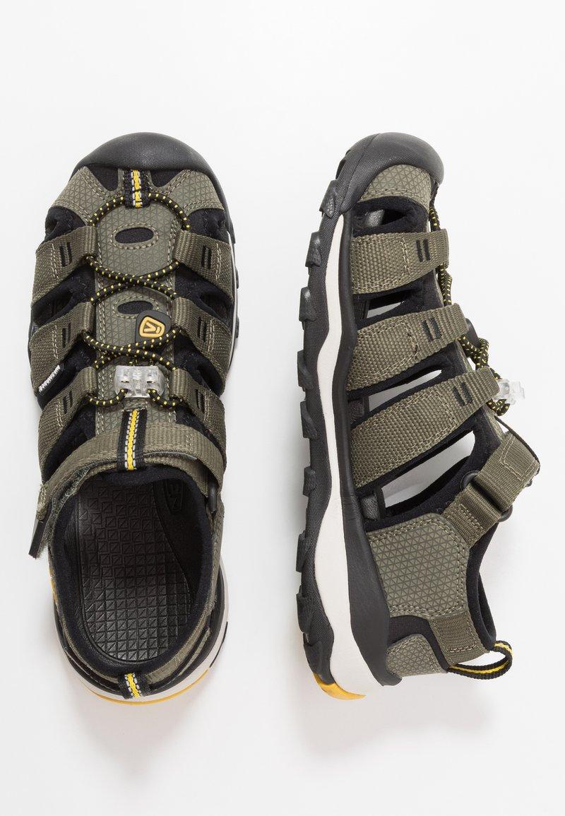 Keen - NEWPORT NEO H2 - Walking sandals - dusty olive/sulphur