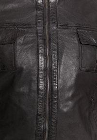 Serge Pariente - DANY - Leather jacket - brown - 6