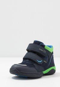 Superfit - STORM - Classic ankle boots - blau/grün - 2