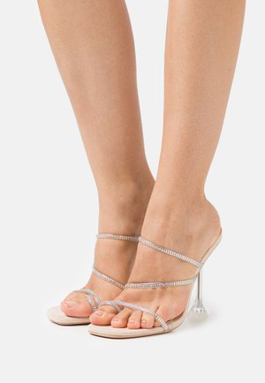 ONORIA - T-bar sandals - nude