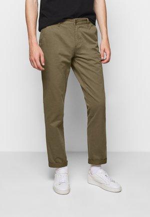BROOK - Chino kalhoty - olive