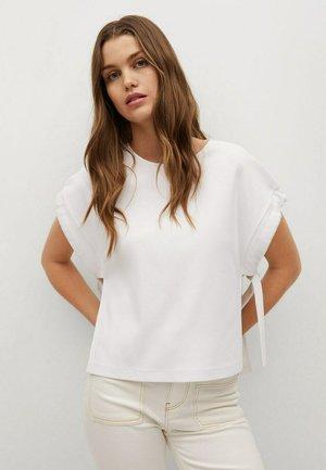 T-shirt z nadrukiem - wit