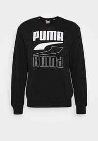 REBEL CREW  - Sweatshirt - puma black