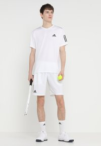 adidas Performance - CLUB SHORT - Sports shorts - white/black - 1