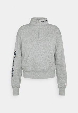 HALF ZIP - Sweatshirt - grey melange