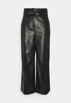 CANDIDANI - Trousers - black
