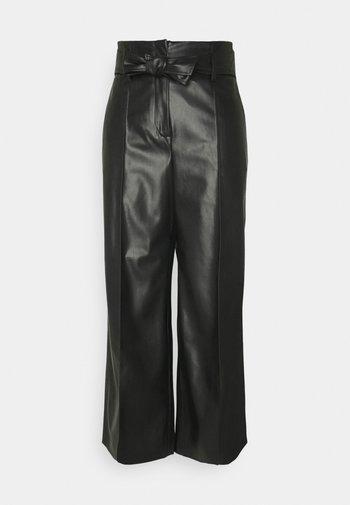 CANDIDANI - Trousers - black