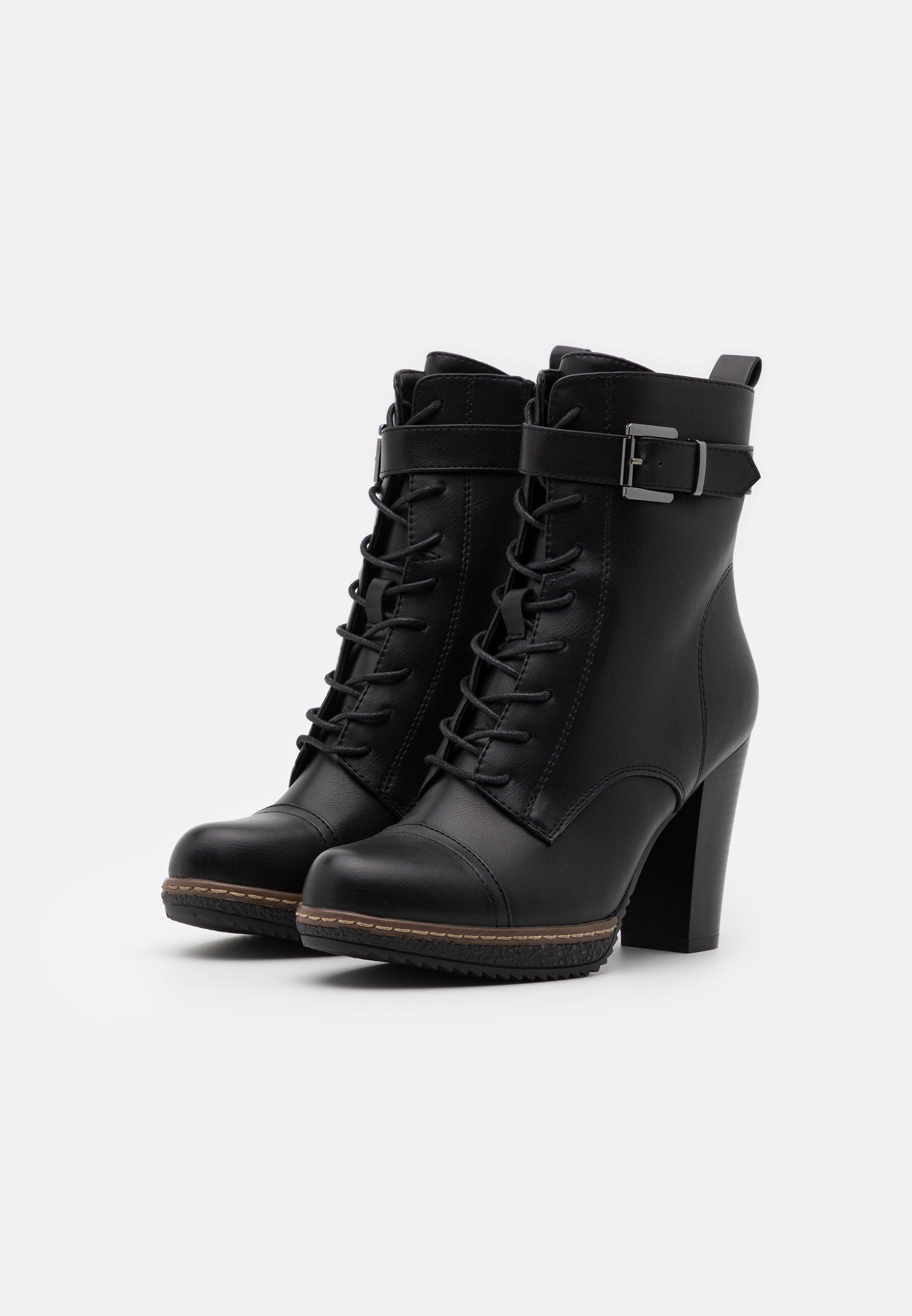 Consiglia sconto Scarpe da Donna Anna Field Stivaletti con tacco black