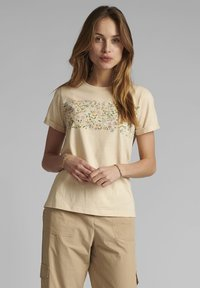 Nümph - Print T-shirt - brazillian sand - 0