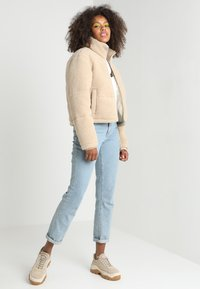 Urban Classics - LADIES BOXY PUFFER - Winter jacket - darksand - 1