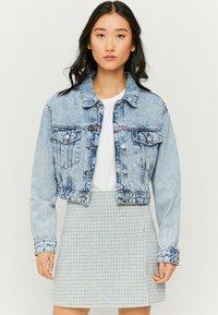 TALLY WEiJL - Denim jacket - bleached denim - 0
