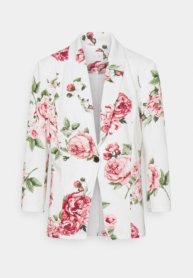 VISALU  - Blazer - snow white/pink/green flowers