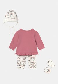 Staccato - SET - Beanie - light pink/white - 1