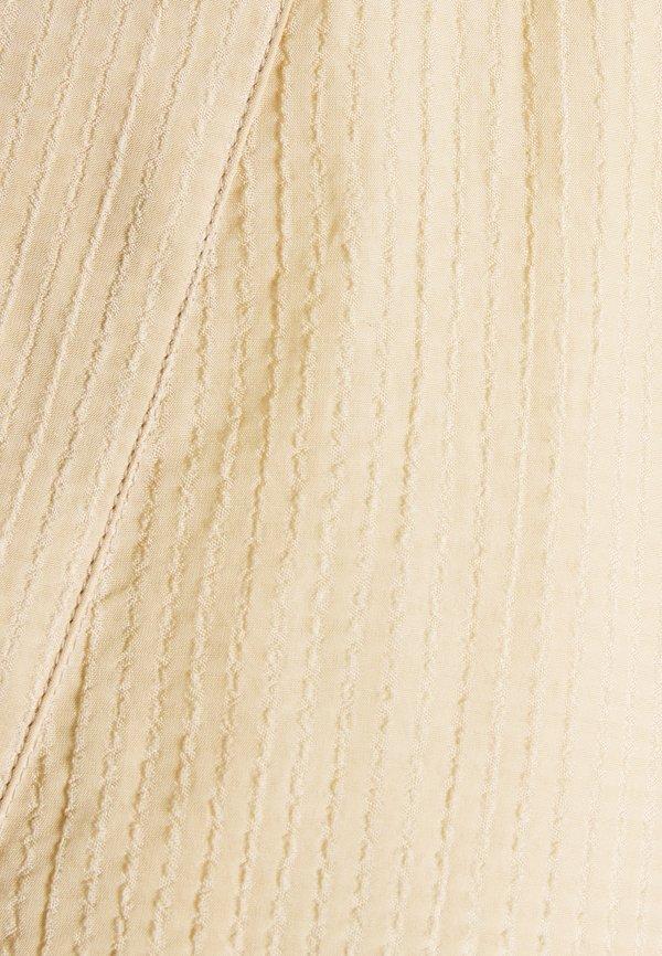 Kaffe KASIMA - Bluzka z długim rękawem - beige/beżowy KXWY