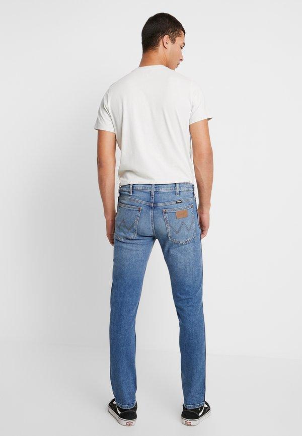 Wrangler 11MWZ - Jeansy Slim Fit - blue denim/ciemnoniebieski Odzież Męska HWZB