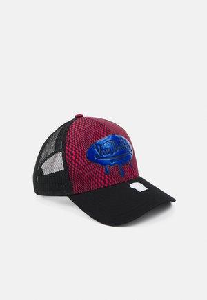TRUCKER MELTING LOGO UNISEX - Cap - red/black