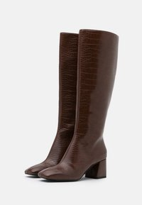 Monki - VEGAN PATTIE BOOT - Støvler - brown medium dusty - 2