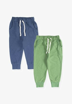 2 PACK - Tracksuit bottoms - green