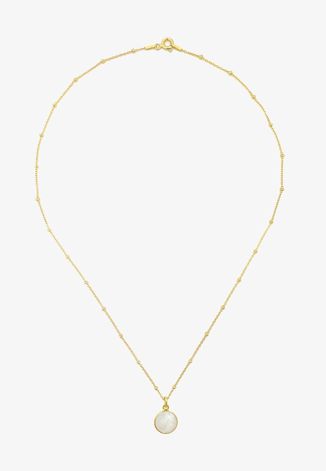 Necklace - gold weiss