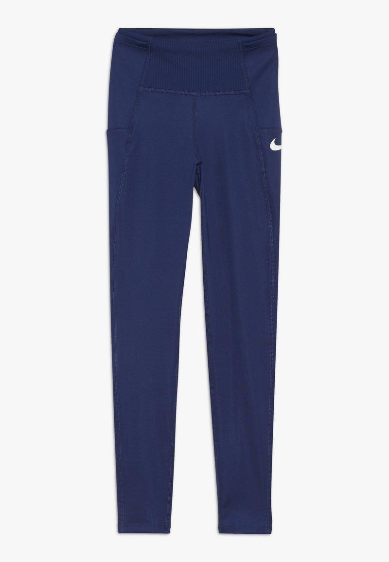 Nike Performance - TRAIN STUDIO - Legging - blue void/white