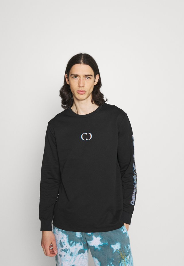 DOUBLE VISION - Long sleeved top - black