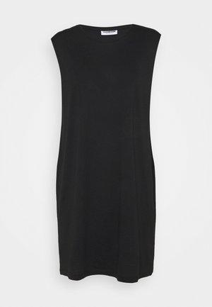NMMAYDEN SHORT DRESS - Jersey dress - black