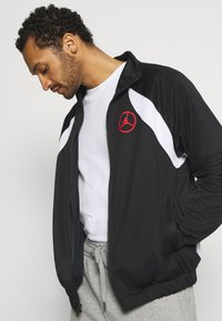 Jordan - Training jacket - black/white/chile red - 3
