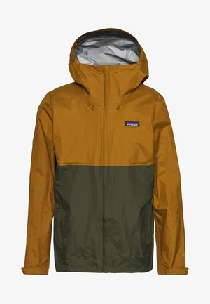 TORRENTSHELL - Hardshell jacket - mulch brown