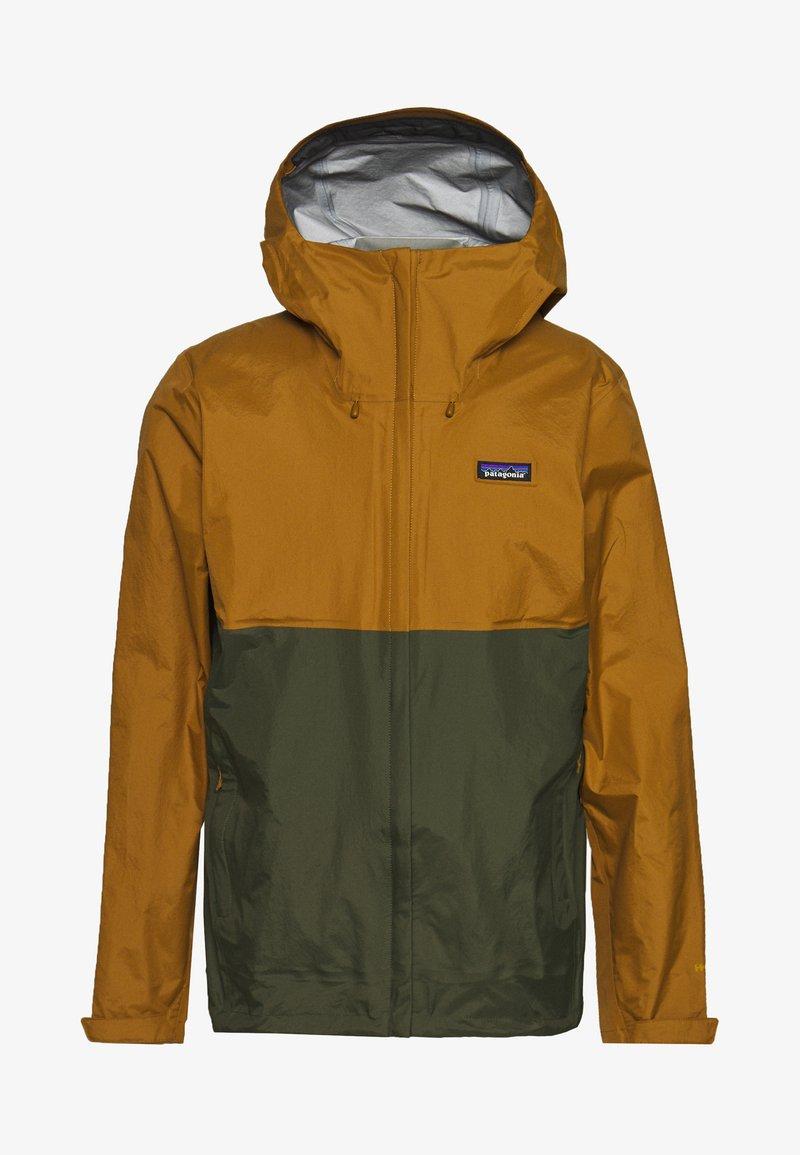 Patagonia - TORRENTSHELL - Hardshell jacket - mulch brown