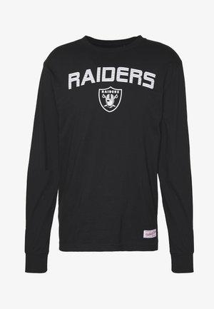 NFL OAKLAND RAIDERS HOWIE LONG THE 80S SUPERBOWL PACK LONGSLEEVE - Club wear - black