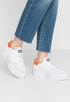 Sneakers basse - white/orange