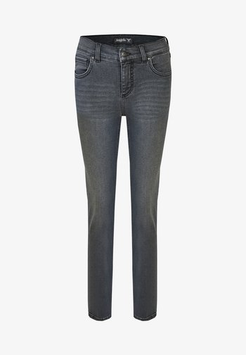 Jeans Skinny Fit - grau-meliert