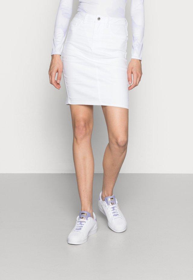 Jupe crayon - bright white