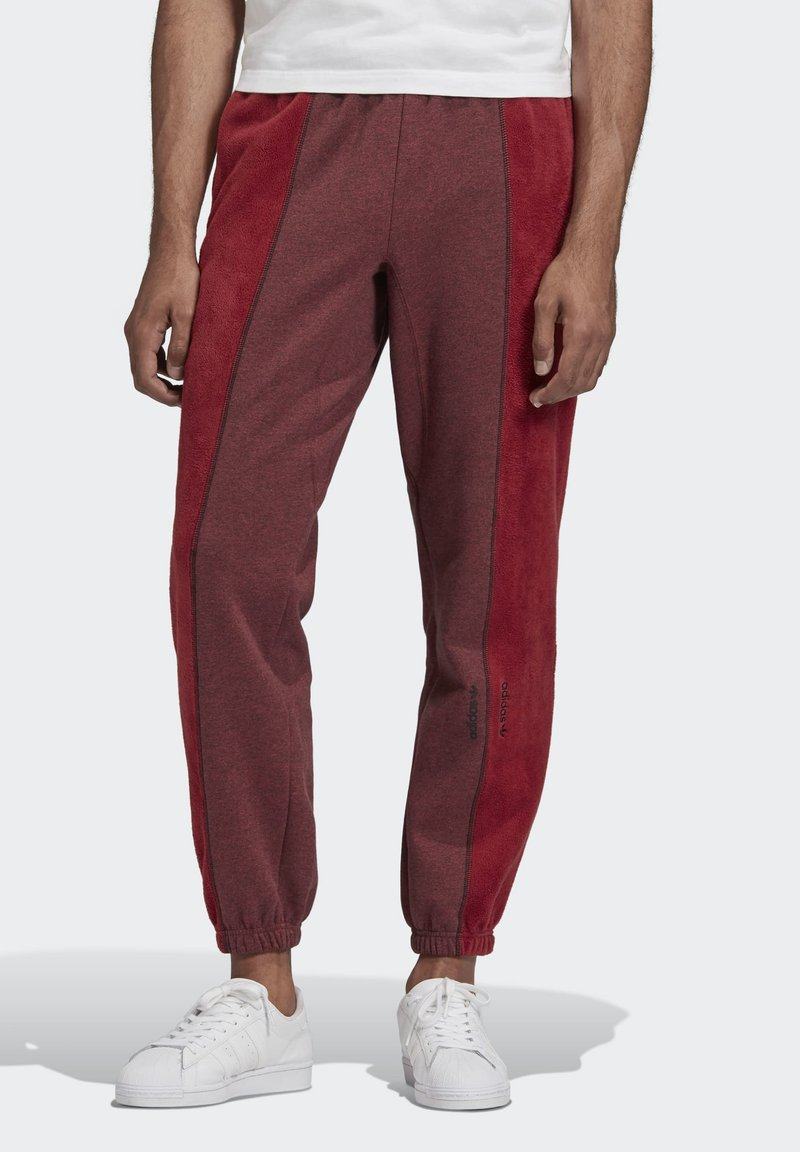 adidas Originals - R.Y.V. SWEAT JOGGERS - Tracksuit bottoms - red
