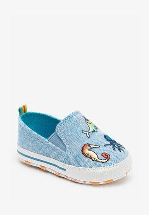 PRAM  - Nazouvací boty - blue