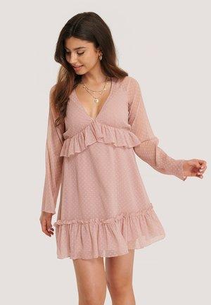 Day dress - dusty pink
