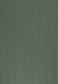 Even&Odd - 3 PACK - T-shirt basic - black/mottled green/white - 8