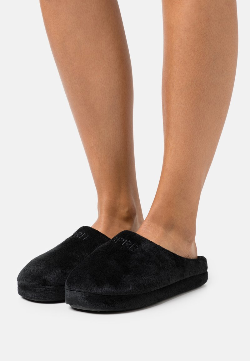 Esprit - BIRMINGHAM - Pantoffels - black