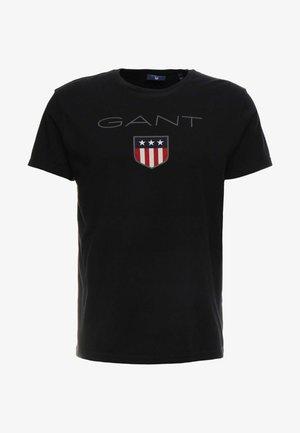 SHIELD - Print T-shirt - black