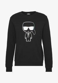 RAINBOW HOLOGRAPHIC PRINT  - Sweater - black