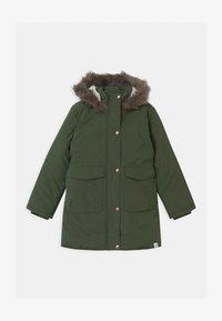 Name it - NKFMAYA  - Zimní kabát - thyme - 0